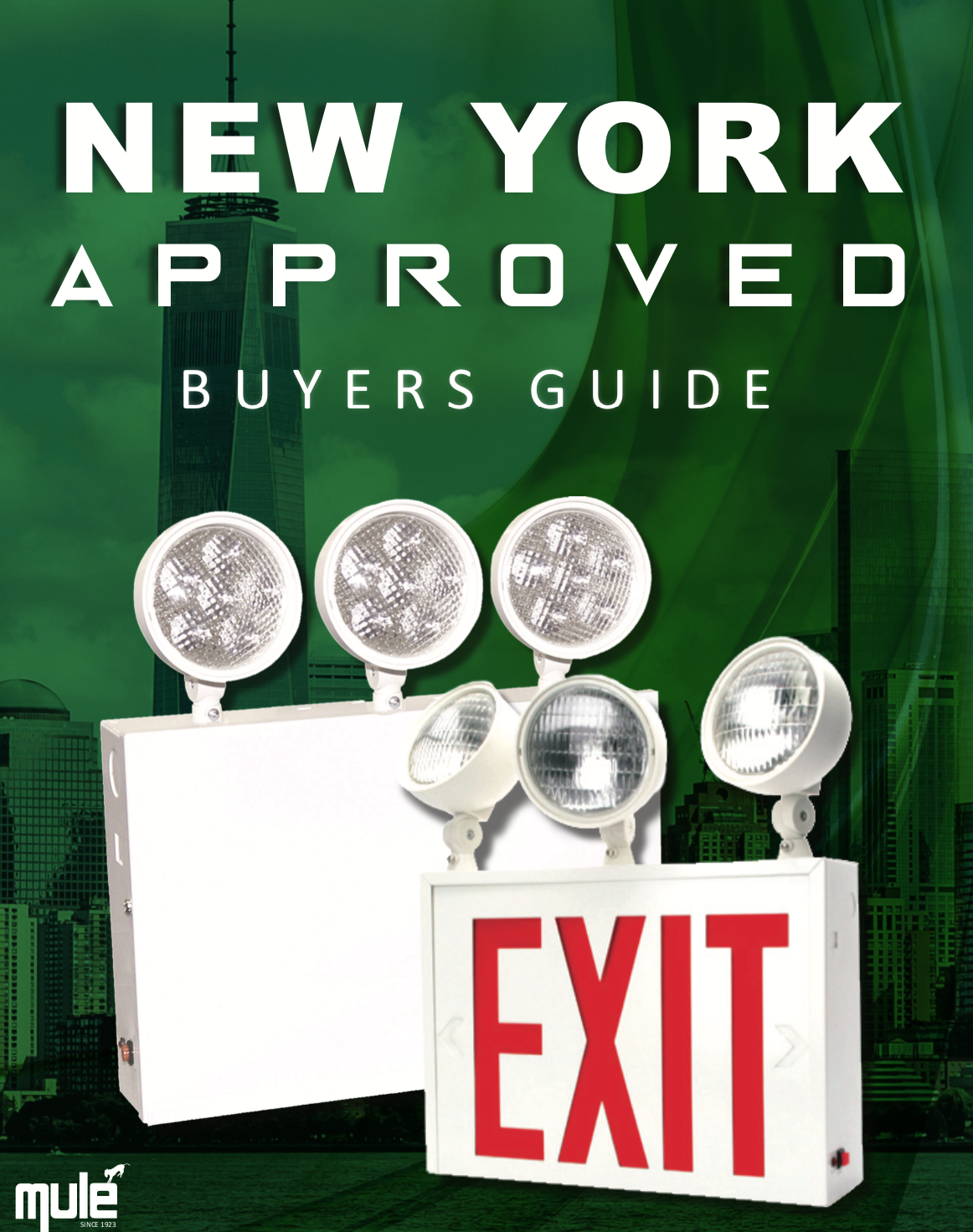 Mule Lighting NY Approved Buyers Guide Literature